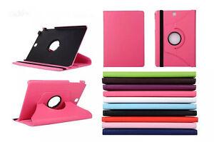 """Coque Housse + Protecteur Pour Samsung Galaxy Tab A 8.0 """" T350 Pivotant Rose"""