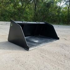 "66"" SNOW/MULCH/DIRT/GRAVEL POWDER COATED BUCKET FOR SKID STEER  SHIPS FREE!"