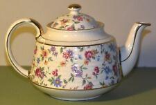 Vintage Sadler Floral/Flowered Teapot Signed 3471 F, England