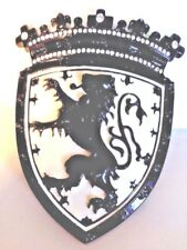 Scottish Saltire Lion Rampant Belt Buckle Black Rhinestone King William1 HIPSTER