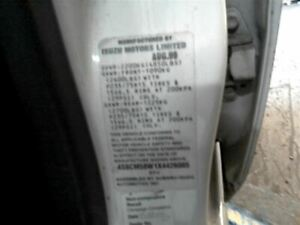 Wash Reservoir Fits 98-04 ISUZU RODEO 1558261
