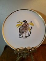 "Centura by Corningware Game Birds  10"" Dinner Plate  BOB WHITE"