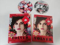 VOLVER EDICION COLECCIONISTA 2 X DVD + LIBRO CAJA PEDRO ALMODOVAR PENELOPE CRUZ