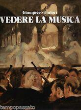 VEDERE LA MUSICA - TINTORI GIAMPIERO - PIZZI PER BANCA CREDITO BERGAMASCO 1985