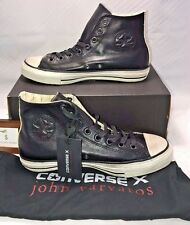$200 CONVERSE JOHN VARVATOS MENS SZ 8.5 CHUCK TAYLOR ALL STAR BURNISHED LEATHER