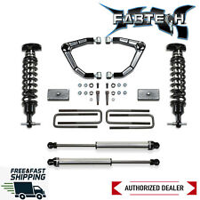 "Fabtech 3"" Billet UCA Lift W/ Dirt Logic Shocks 2019-2020 Chevy Silverado 1500"