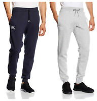 Canterbury Mens Tapered Fleece Cuffed Bottoms Pants Sweatpants Cotton Slim Size
