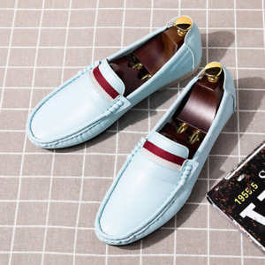 2021 Loafers Leather Fashion Men's Summer Driving Shoes Breathable Men Top Hot