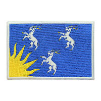 Merioneth County Flag Patch Iron On Patch Sew On Embroidered Patch