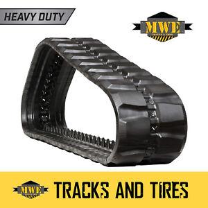 """Fits CAT 299C - 18"""" MWE Heavy Duty Block Pattern  CTL Rubber Track"""