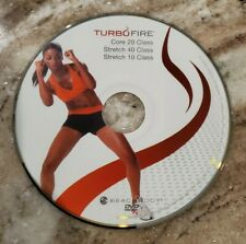 TURBO FIRE - Chalene Johnson - CORE 20, STRECH 40, STRETCH 10 - Replacement Disc