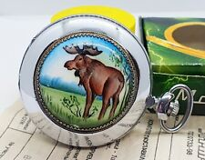 Molnija Pocket watch Animal 3602 caliber Russia Watch Rare