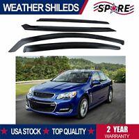 Weather Shields for Holden VE VF Commodore Sedan Window Visors SV6 SS SSV HSV