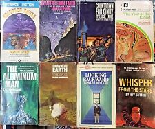 Lot of 38 Science Fiction - SCI FI - Fantasy 1960's Vintage Paperback Books