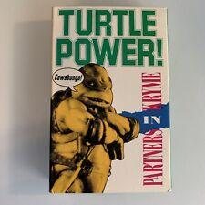 Partners In Kryme Turtle Power (Cassette) Single