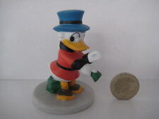 GROLIER PORCELAIN DISNEY FIGURE FIGURINE MINIATURE ORNAMENT UNCLE SCROOGE DUCK