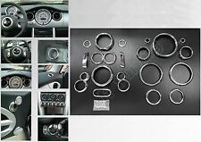 MINI Cooper MK1 02-06 R50 R52 R53 Chrome Interior Trim Kit - 26 Piece