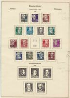 germany allied occupation stamps page 1948  ref 18743