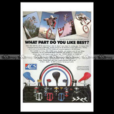 #phpb.000905 Photo ACS BMX BICYCLE ACCESSORIES MIKE BUFF 1983 A4 Advert Reprint