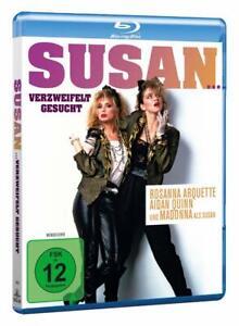 Susan... verzweifelt gesucht [Blu-ray/NEU/OVP] mit Madonna und Rosanna Arquette