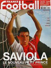 France Football n°3048 - 2004 - Saviola - Thuram - Henry - Molinari - Sannois