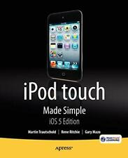 iPod Touch Made Simple, IOS 5 Edition. Trautschold, Martin 9781430237143 New.#