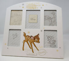 More details for disney bambi multi aperture collage photo frame welcome baby shower gift newborn