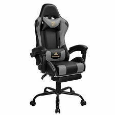 Comfurni Racing Gaming Home Office Chair Swivel Sports Computer Desk Recliner