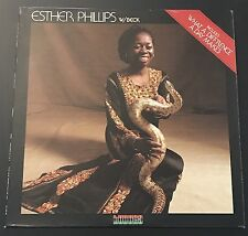 Esther Phillips W/ Beck What A Diff'rence A Day Makes  LP KU-23 S1 / 1975