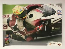 Tommy Bridewell Un Signed Superbike Poster.