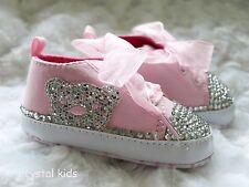 ** Vendita ** BABY GIRLS Rosa Teddy Bear Scarpe Baby Scarpe scarpette da neonato 6-12 usi