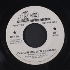 TINY TIM: I'm A Lonesome Little Raindrop 45 (dj) Rock & Pop