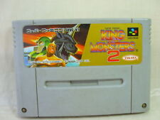Super Famicom KING OF MONSTERS 2 Nintendo Video Game Cartridge Only sfc