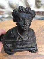 Bel Ange Portant Un Blason Chérubin , Bois Sculpté XViii- Angelot,