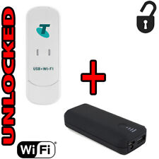 Modem 3G H+ Wifi Portable + Power Bank 3G 850/2100 GSM Claro At&t Europe Latin