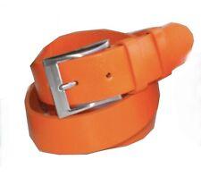 Cinturón cuero vacuno completamente 100% 4cm ancho mujeres/hombres muy estable