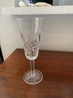 "Vintage Waterford Crystal Lismore Champagne Flute 7 1/4"" Tall .....1 Of 8 Av."
