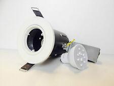 3 X Philips Calidad Superior GU10 Kit de Techo de luz de fuego nominal abajo + 4.5w Bombillas LED
