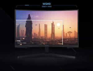 """SAMSUNG 27"""" G5 Odyssey Gaming Curved QHD 2560x1440 144Hz 2K FreeSync C27G55T"""