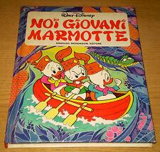 NOI GIOVANI MARMOTTE Walt DISNEY Qui Quo Qua Paperino 1°ediz. MONDADORI 1981