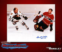 GUMP WORSLEY Signed Montreal Canadiens 8 X 10 -70003