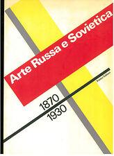 CARANDENTE GIOVANNI ARTE RUSSA E SOVIETICA 1870-1930 FABBRI 1989 CATALOGO MOSTRA