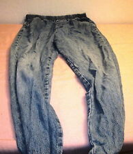 White Stag Petite Size L (32 x 28) Blue Jeans with Elastic Waistband