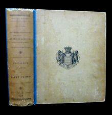 RARE Cartulaire du Prieuré de Saint-Flour Auvergne Boudet 1910 Albert 1er Monaco
