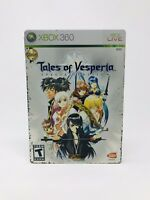 Tales of Vesperia Special Edition in Steelbook, Xbox 360 Great Shape w Manual