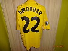 Borussia Dortmund gool.de CL. Matchworn Trikot 2002/03 + N.22 Amoroso Gr.XL
