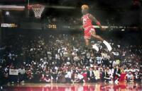 Michael Jordan Poster - Slam Dunk Contest - Querformat Plakat 89,6 x 59,5 cm