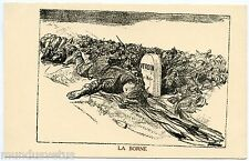 WW1. J.L FORAIN. La BORNE. VERDUN. Guerre, patriotique. War, patriotic