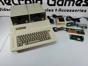 Vintage Apple IIe (2e) Computer w/ 2 Disk Drives + Extras! - Tested Working!