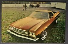1973 Ford Ranchero Pickup Postcard Brochure Excellent Original 73